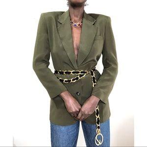 VINTAGE | CLASSIQUES ENTIER Silk longline blazer